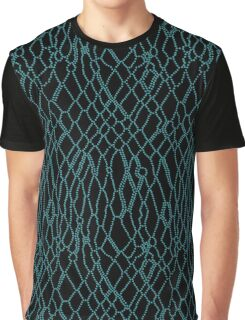 Animal Skin on Dots Graphic T-Shirt