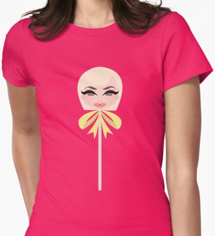 Yolanda Hadid Womens Fitted T-Shirt