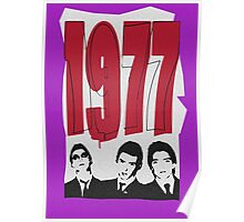 1977 The Jam Poster