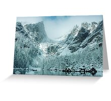 A Dream at Dream Lake Greeting Card