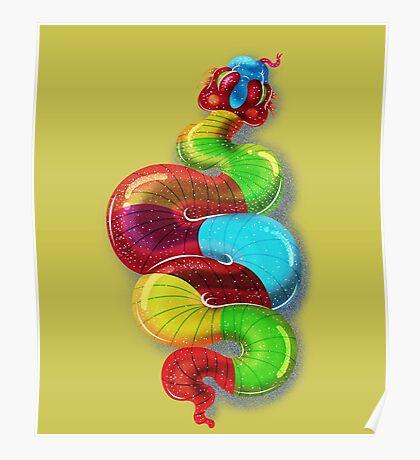 gummy snake by joejr  Poster
