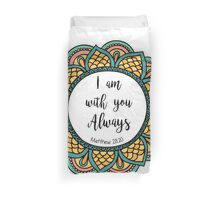Matthew 22:28 4 Duvet Cover