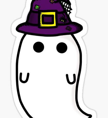 witch hat ghost Sticker