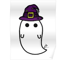 witch hat ghost Poster