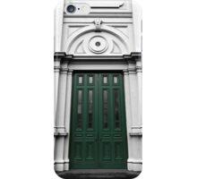 The Green Door iPhone Case/Skin
