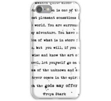 Freya Stark Explorer iPhone Case/Skin