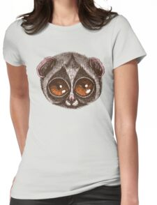 Slow Loris Womens Fitted T-Shirt