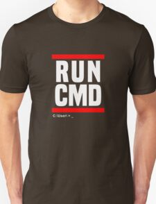 run cmd Unisex T-Shirt