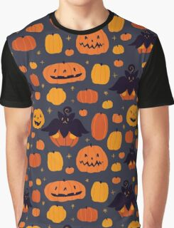 Fall Pumpkaboo Pumpkin Patch Graphic T-Shirt