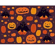 Fall Pumpkaboo Pumpkin Patch Photographic Print