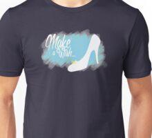 Make a Wish... Slipper (Blue) Unisex T-Shirt
