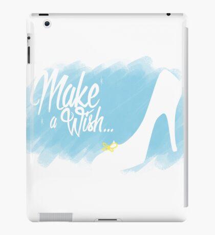 Make a Wish... Slipper (Blue) iPad Case/Skin