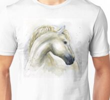 Horse Watercolor Painting Unisex T-Shirt