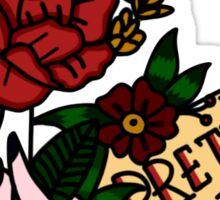 pretty. odd. flowers colored! Sticker