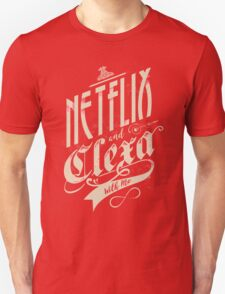 Netflix and Clexa - White Unisex T-Shirt