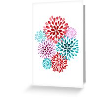 POMPONS Greeting Card