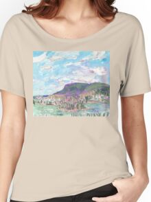 Mount Wellington, from MONA Women's Relaxed Fit T-Shirt
