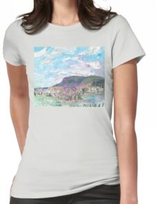 Mount Wellington, from MONA Womens Fitted T-Shirt
