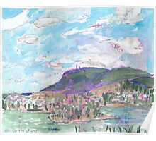 Mount Wellington, from MONA Poster