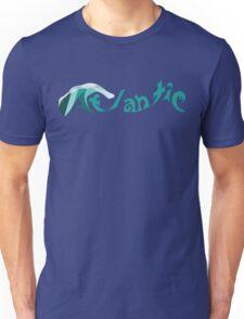 Atlantic Ocean Text Design Unisex T-Shirt