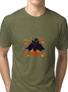 Fall Pumpkaboo Pumpkin Single Tri-blend T-Shirt