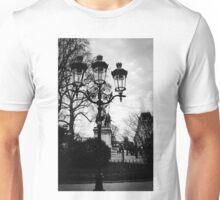 Paris lamp posts Unisex T-Shirt