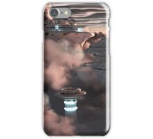 Sci - Fi City in the Clouds iPhone Case/Skin