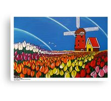 TulipTime,Netherlands. Canvas Print