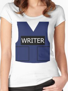 Writer's Vest Women's Fitted Scoop T-Shirt