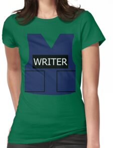 Writer's Vest Womens Fitted T-Shirt