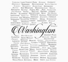 Washington Kids Tee