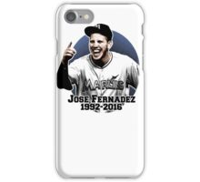 Jose Fernandez Shirt iPhone Case/Skin