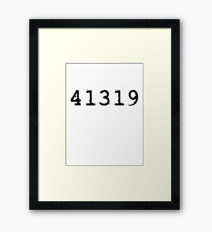 41319 - Det. Kate Beckett Framed Print