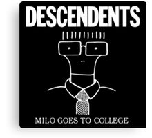 Milo Goes to College Canvas Print