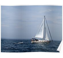 Port Clyde Harbor, Maine Poster
