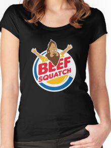 Beefsquatch Women's Fitted Scoop T-Shirt