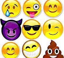 Emoji Montage by Sharon Poulton