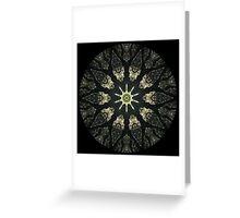 Moss Tree Kaleidoscope Greeting Card