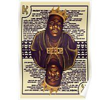 Hip Hop King -- Biggie Poster