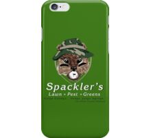 Spackler's Lawn Pest and Greens iPhone Case/Skin