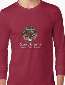 Spackler's Lawn Pest and Greens Long Sleeve T-Shirt