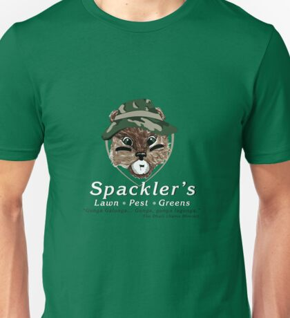 Spackler's Lawn Pest and Greens Unisex T-Shirt