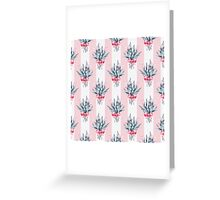 Pattern with bouquets Greeting Card