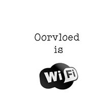 Oorvloed is... WiFi! by Maree Clarkson