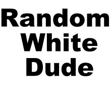 Random White dude by jaayduubs