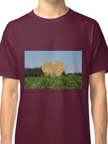 heart hay in the countryside Classic T-Shirt