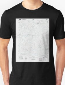USGS TOPO Map Arkansas AR Guy 20110721 TM Unisex T-Shirt