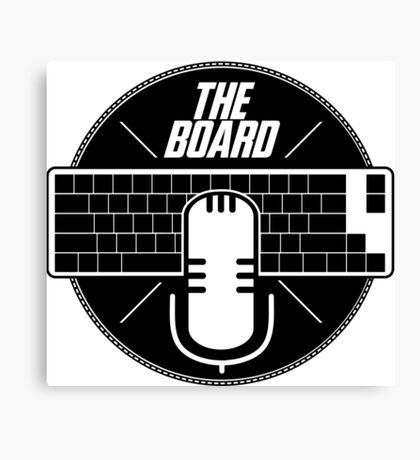 The Board Podcast Canvas Print