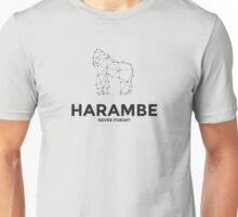 Harambe - Never Forget Unisex T-Shirt