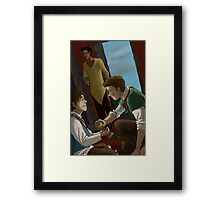 To Raise a King Framed Print